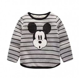 "Футболка Gold Treasure ""Mickey Stripes Gray"""