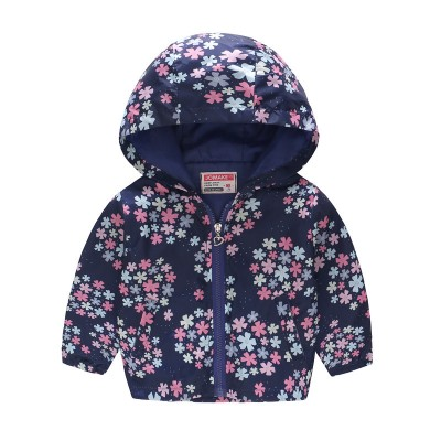 "Ветровка ""Floral Splash Navy"""
