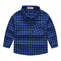 "Рубашка ""Small Checkers Blue"""